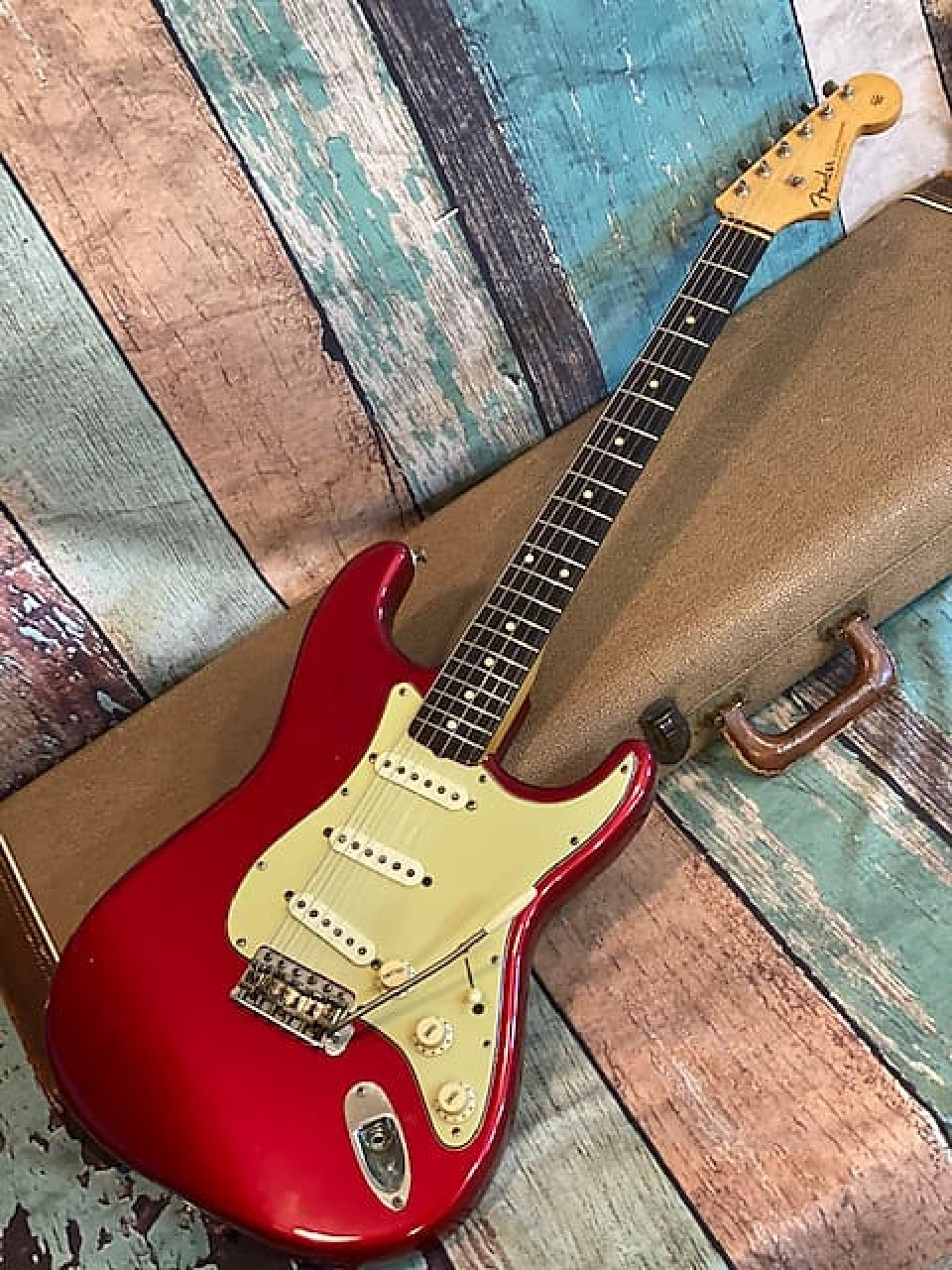 1960 Stratocaster Candy Apple Red