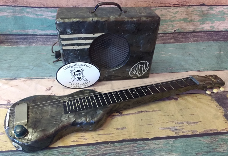 Lap Steel and Amp