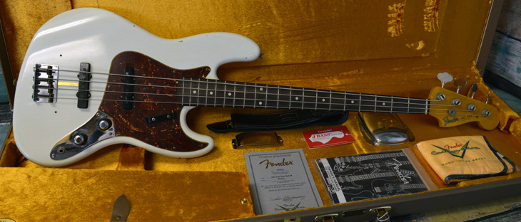 2015 Custom Shop 1960 Journeyman Jazz Bass Relic