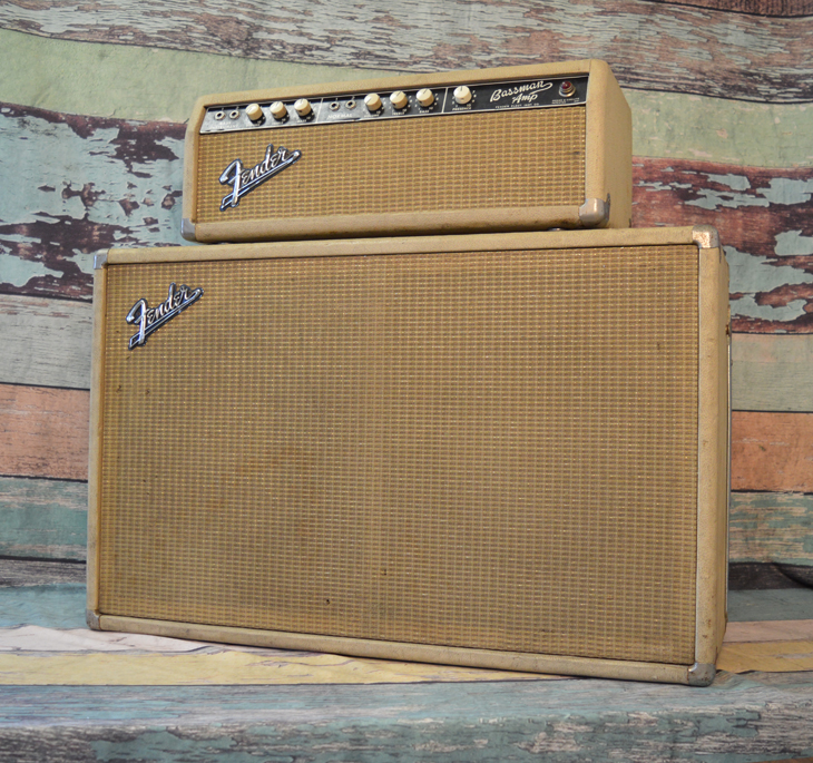 1964 Bassman Head and Cabinet